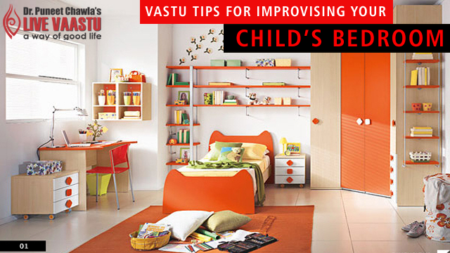 Vastu Tips For Improvising Your Child's Bedroom