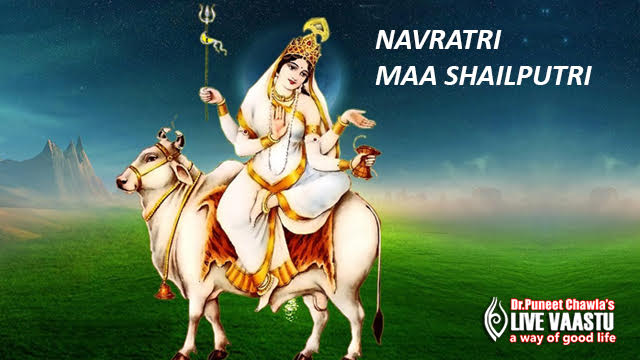 Worship Maa Shailputri - First Day Of Navratri
