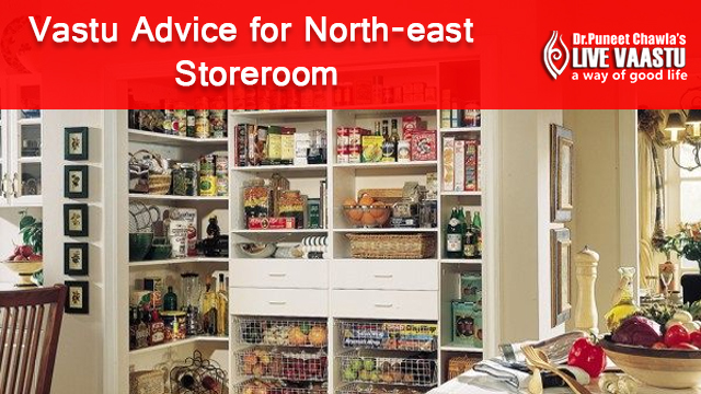 Vastu Advice for North-East Storeroom