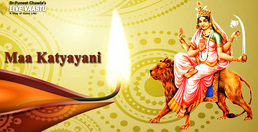 Worship Maa Katyayani on the sixth day of Navaratri