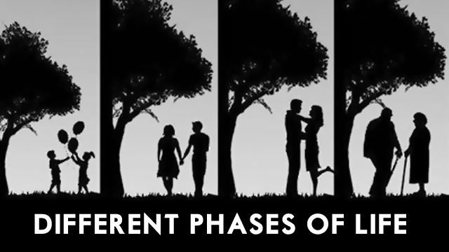 Different phases of Life