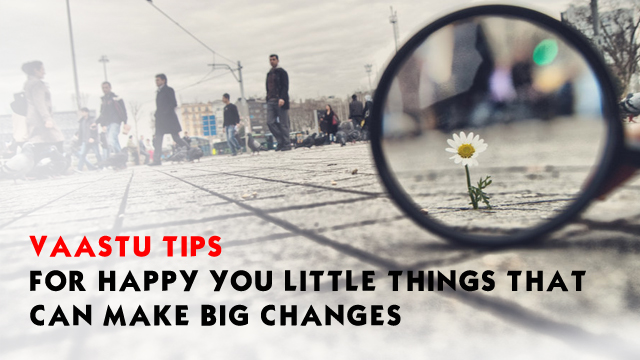 Vaastu Tips For Happy You- Little Things That Can Make Big Changes