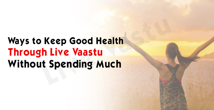 Ways to keep good health through live vaastu without spending much