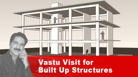 Vaastu Visit for built up structures