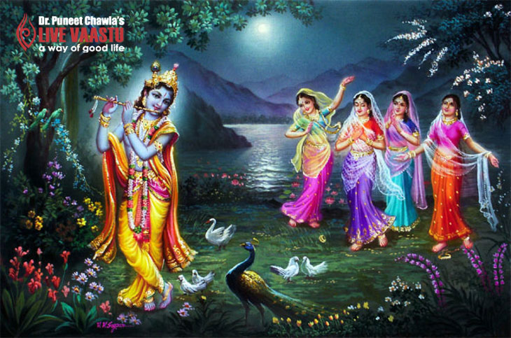 Who all Woman were important in Krishna's life