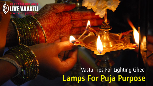 Vastu Tips For Lighting Ghee Lamps For Puja Purpose