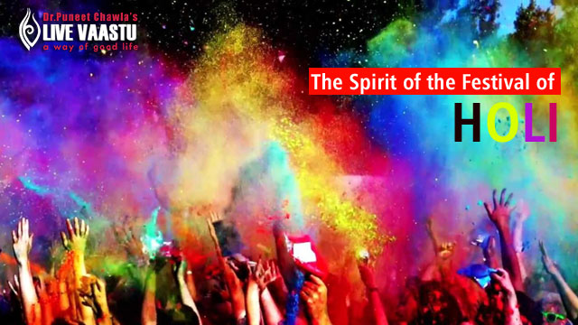 The Spirit Of The Festival Of Holi