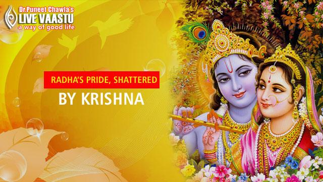 Radha's Pride, Shattered By Krishna