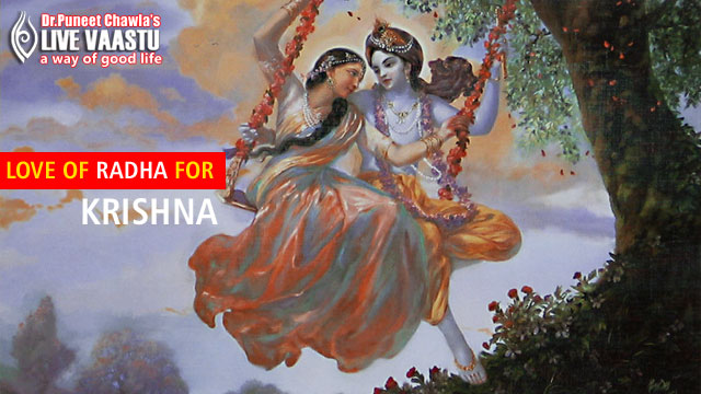 Love Of Radha For Krishna