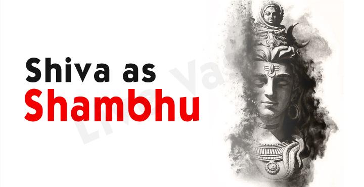 Shiva as Shambhu