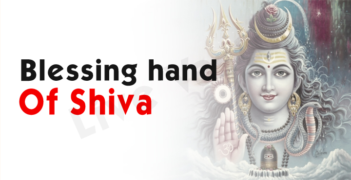 Blessing Hand Of Shiva