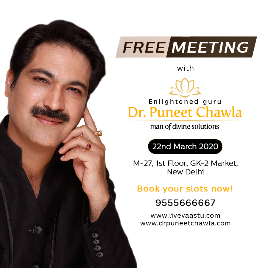 Free Meeting with Dr. Puneet Chawla
