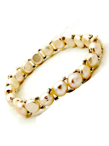 Pure White Pearl Bracelet