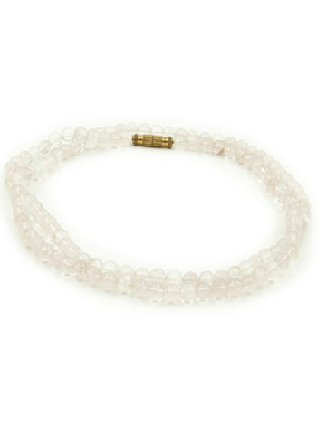 Peace Mala Rose Quartz Small Bead