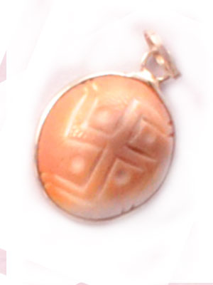 Gomati Chakra Pendant