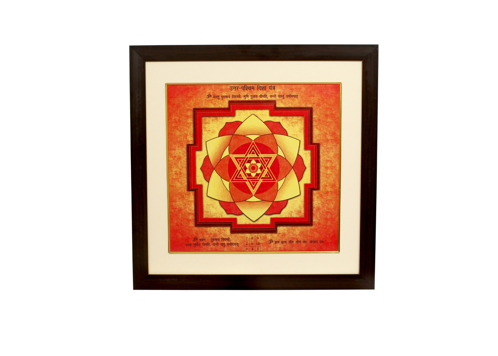 North West Direction Yantra