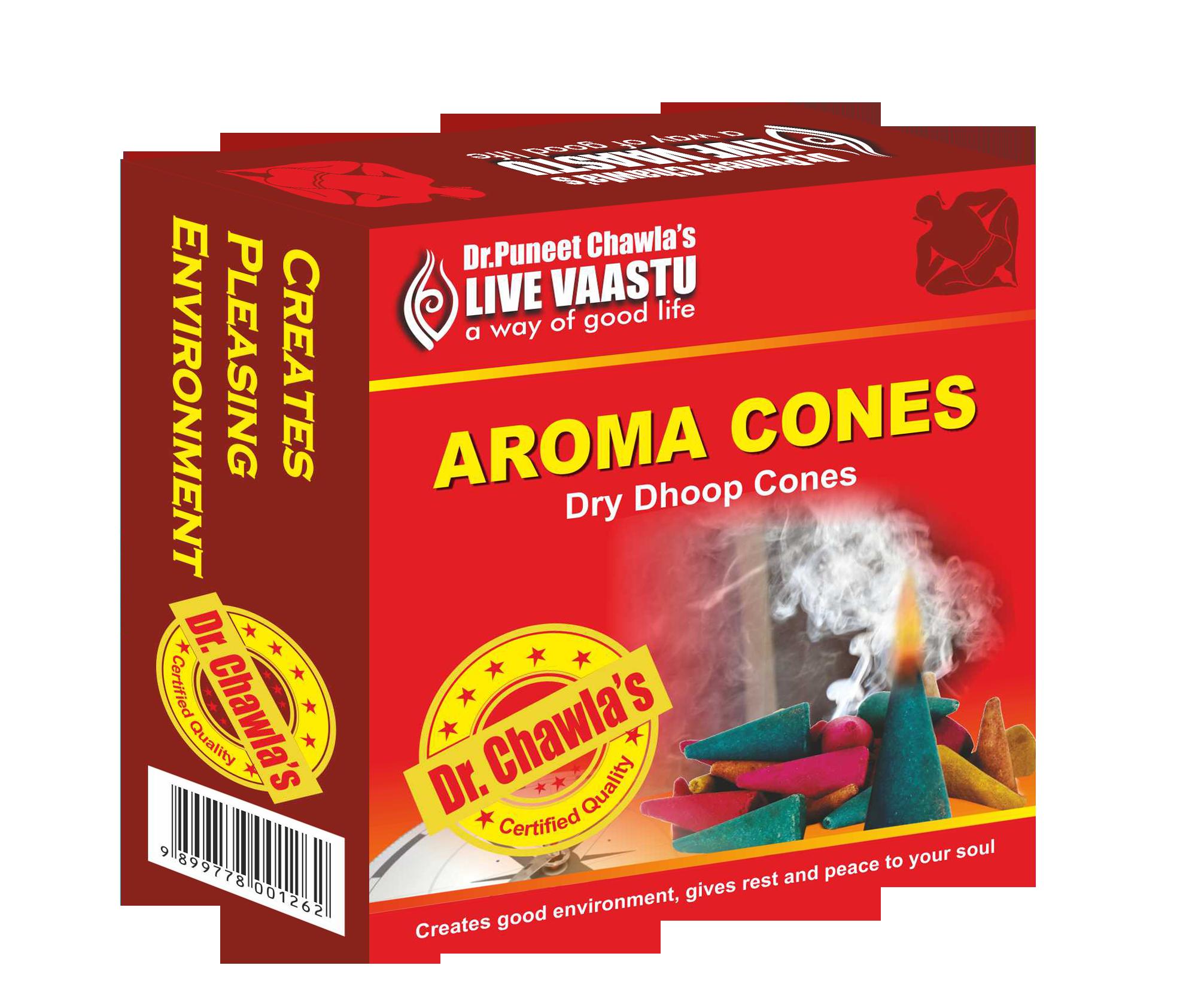 Aroma Incense Cones