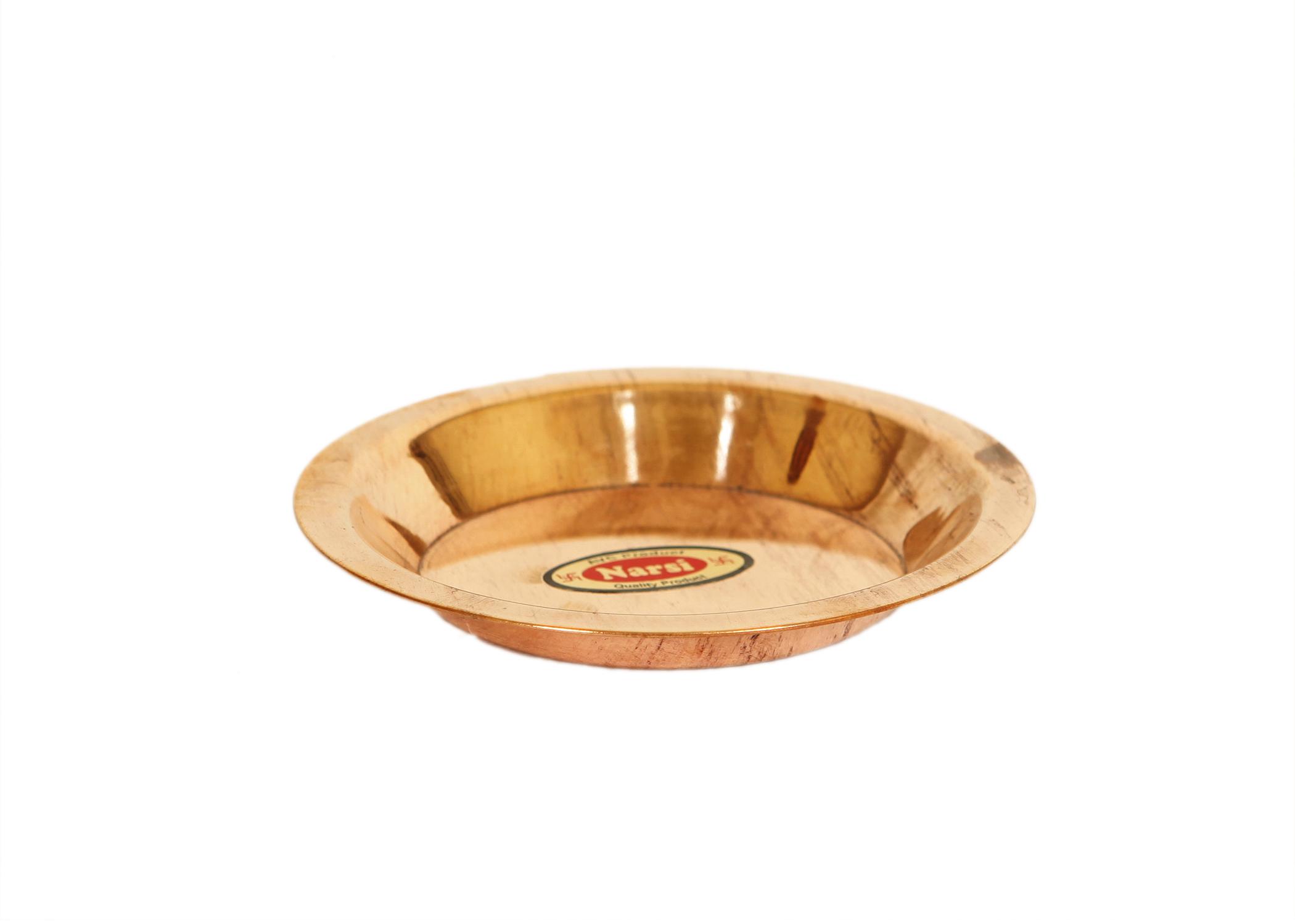 Copper Puja Thali 2