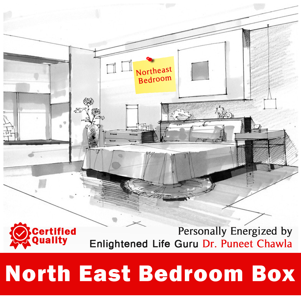 North East Bedroom Box BLVE-049