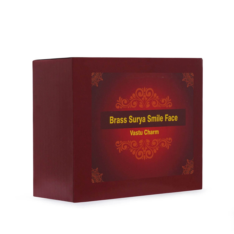 Brass Surya smile Face