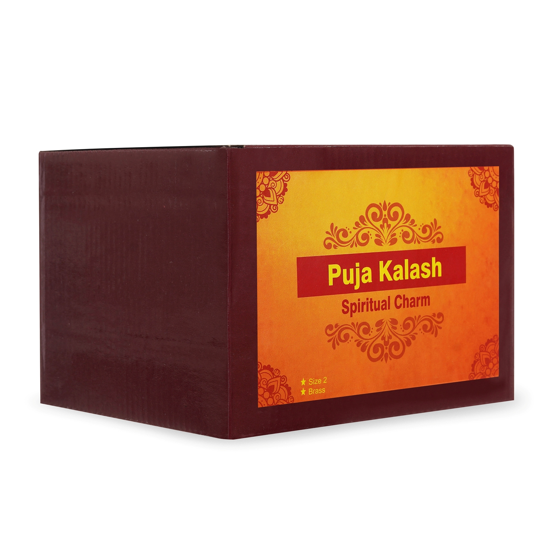 Puja Kalash Brass Model 2