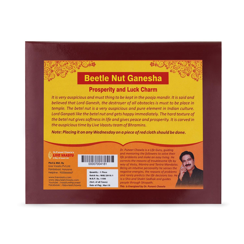 Beetle Nut Ganesha