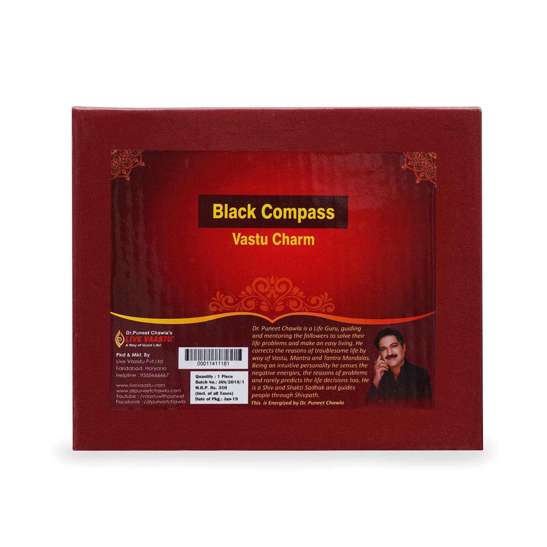 Black Plastic Compass