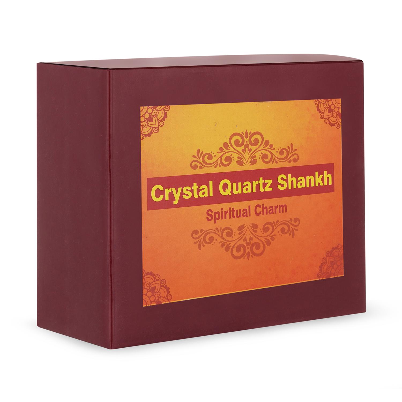 Crystal Quartz Shankh