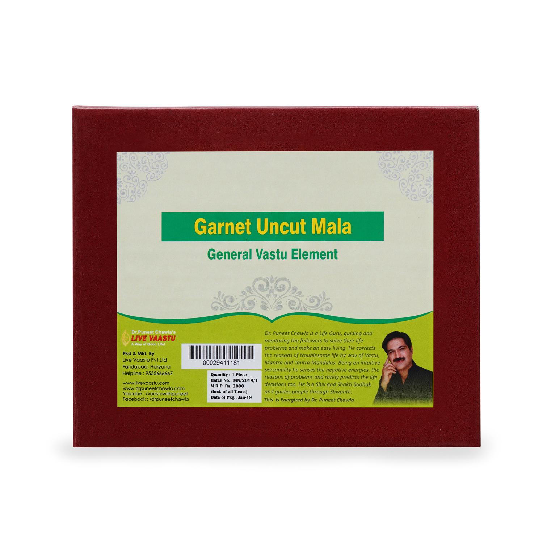 Garnet Uncut Mala