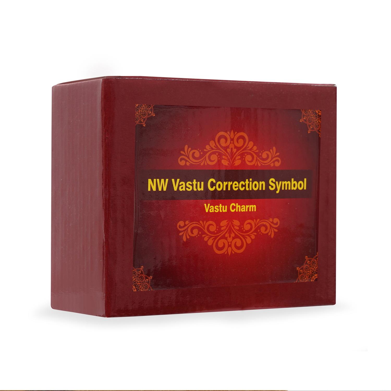 North West Vastu Correction Symbol  (Round)