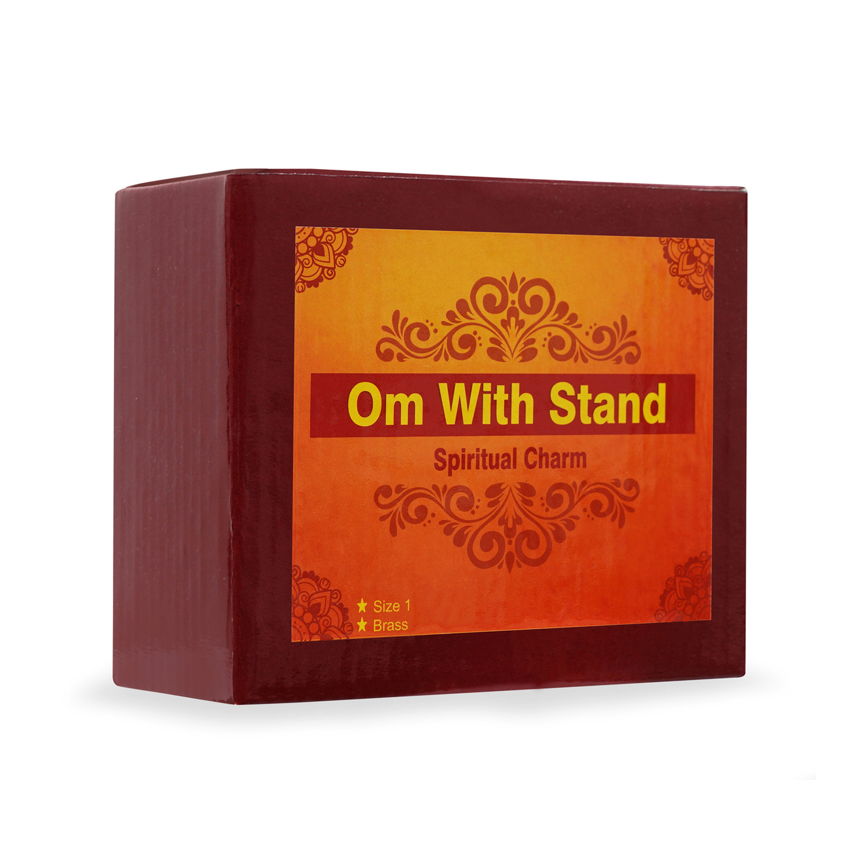 Live Vaastu Om with Stand (Mini Size)