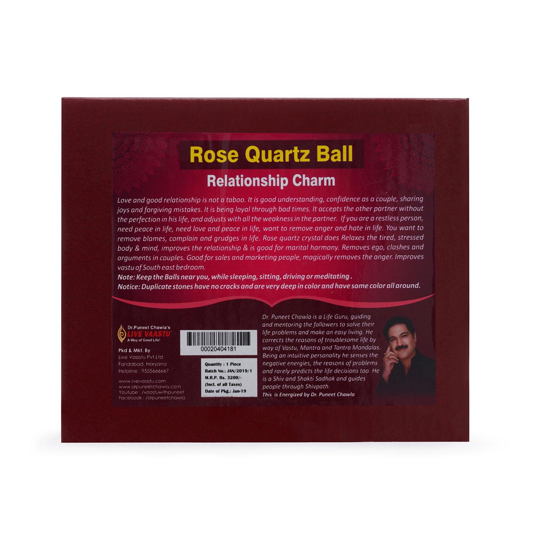 Rose Quartz Ball