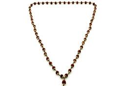 Rudraksha  mala cap bead