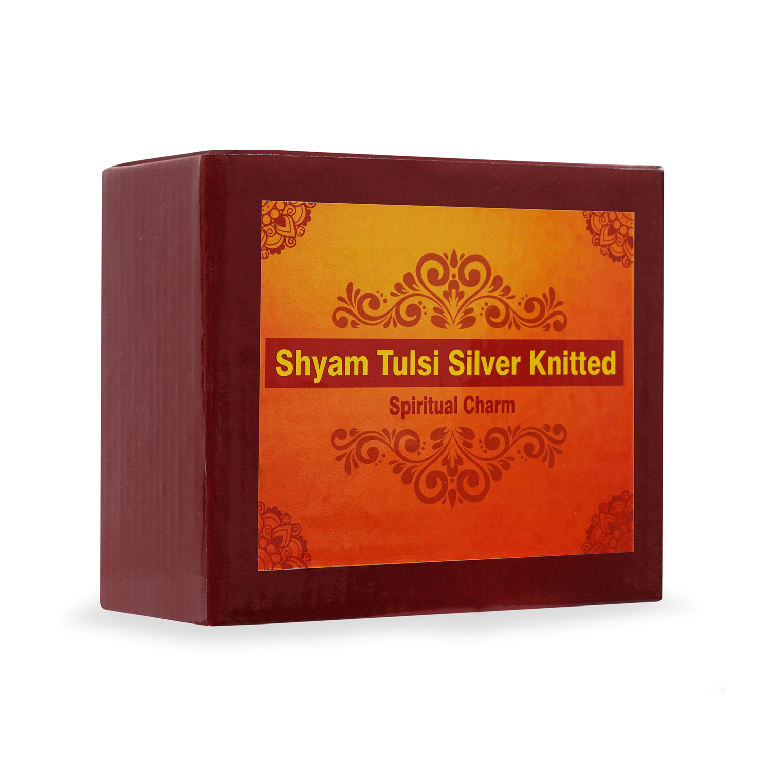 Shyam Tulsi Silver Knitted