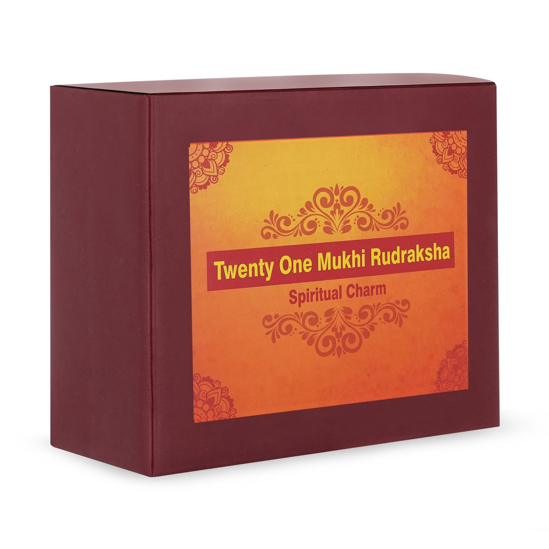 Twenty One Mukhi Rudraksha
