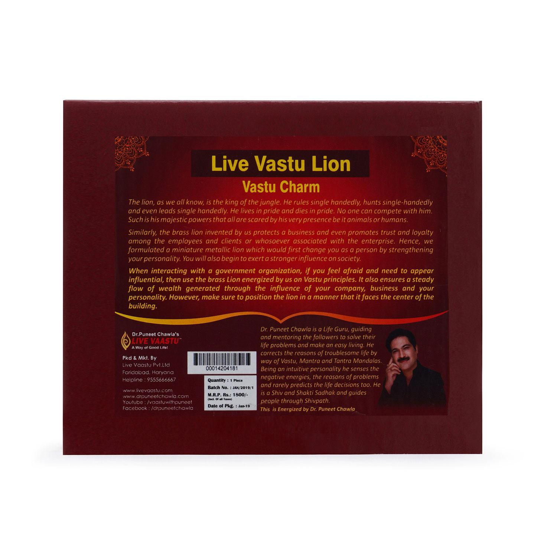 Live Vastu Lion 1