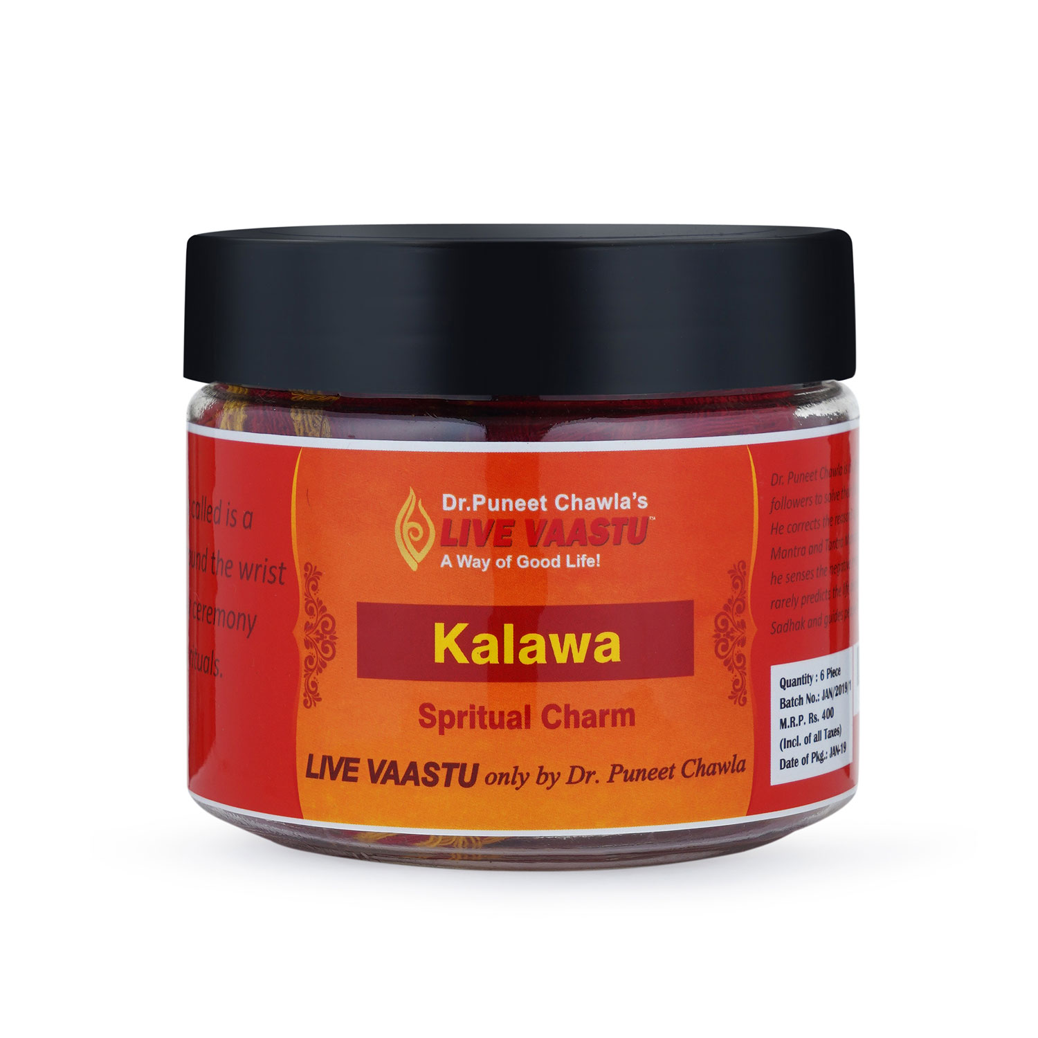 Kalawa ( Sacred Dhaaga mouli ) pack of 6