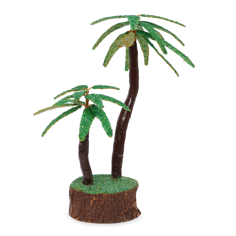 Coconut green crystal prosperity Decorative tree …