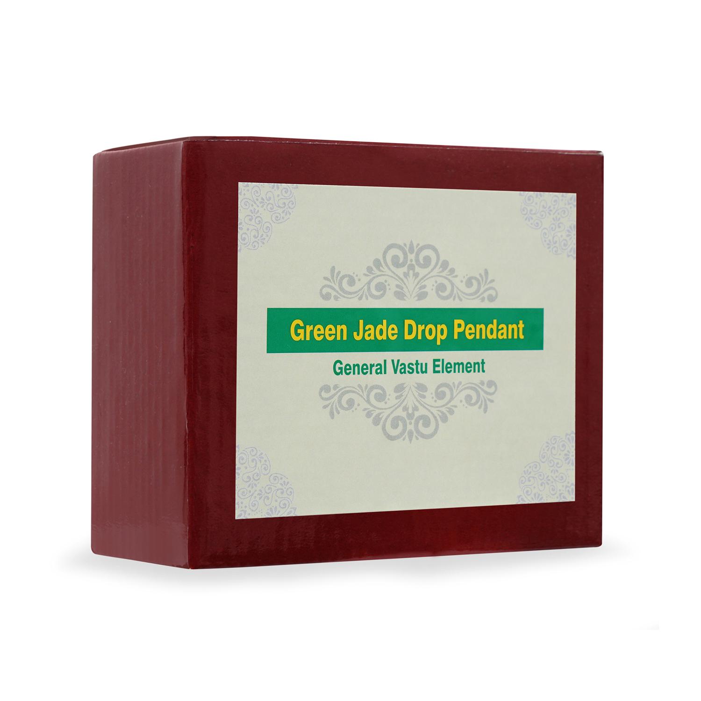 Green Jade Drop Pendant