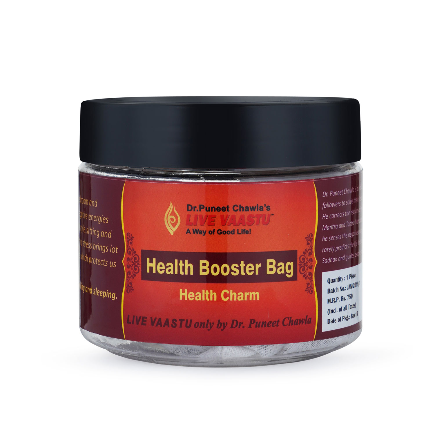 HEALTH BOOSTER BAG