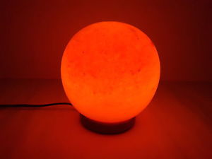 Naturals Rock Salt Lamp Globe Shape