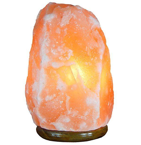 Naturals Rock Salt Table Lamp, 6-7 kg