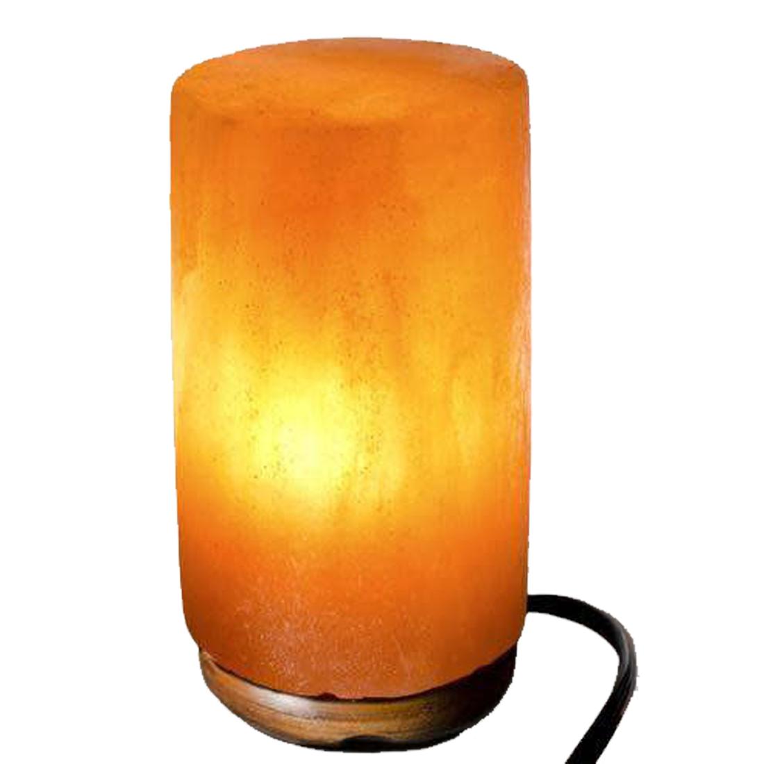 Naturals Vastu Rock Salt Lamp Cylinder Shaped | Natural Air Purifier