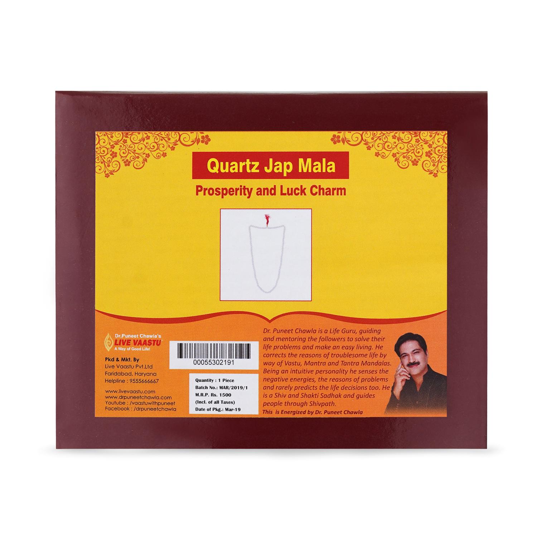 Quartz Jap Mala