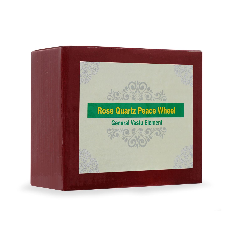 Rose Quartz Peace Wheel