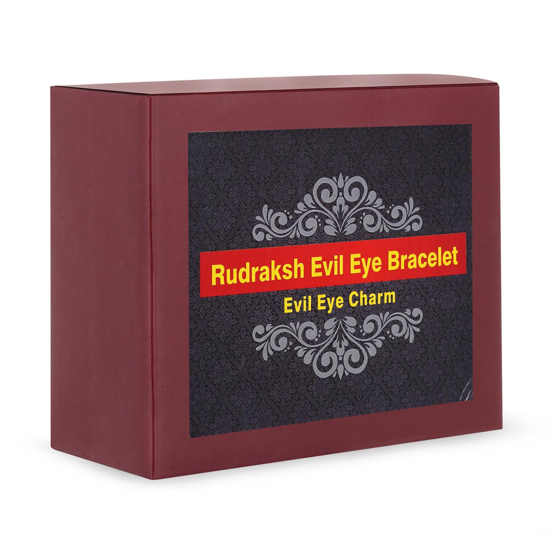 Rudraksh evil eye bracelet