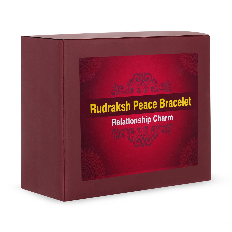 Rudraksh Peace Bracelet