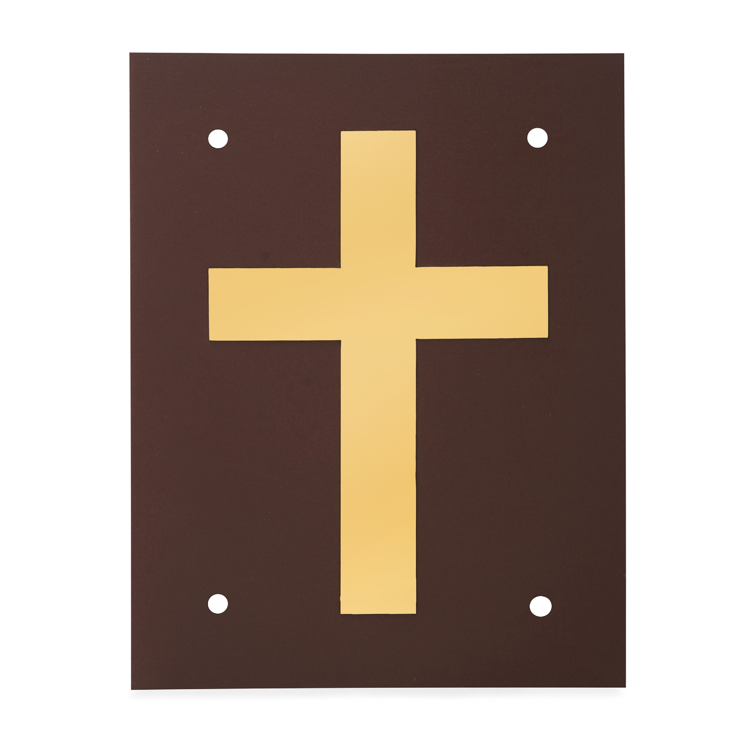 Holy Cross Gold Plated