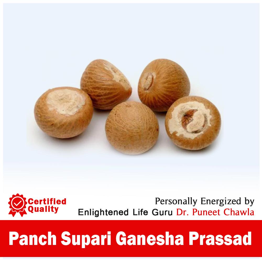 Panch Supari Ganesha Prassad