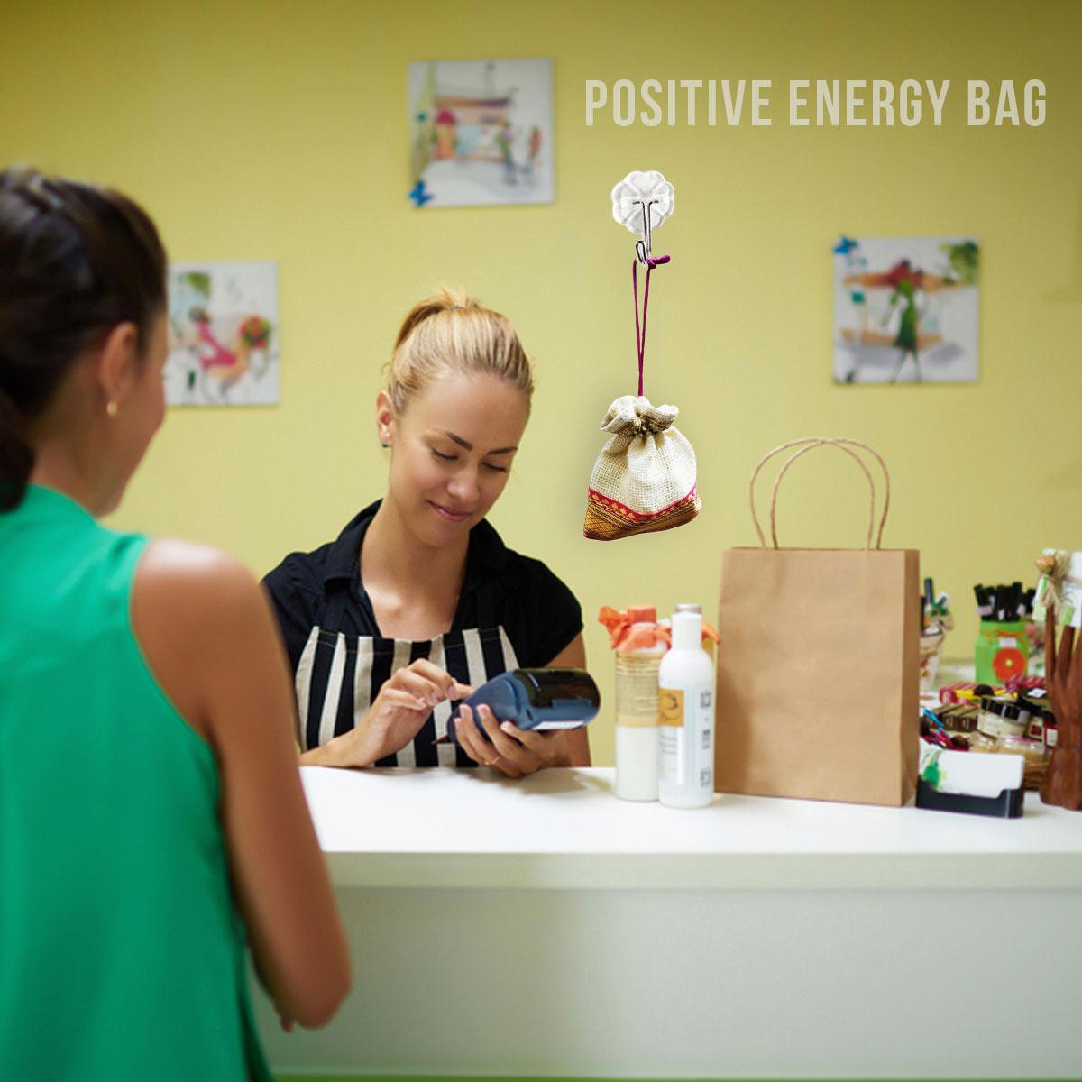 SHOWROOM POSITIVE ENERGY BAG